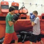 Boxing South Elgin Budokan Martial Arts Karate DSCN4478