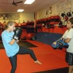 KickBoxing South Elgin Budokan Martial Arts Karate DSCN8437