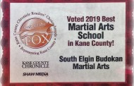 2019 – We've been voted THE BEST Martial Arts schools in Kane County!